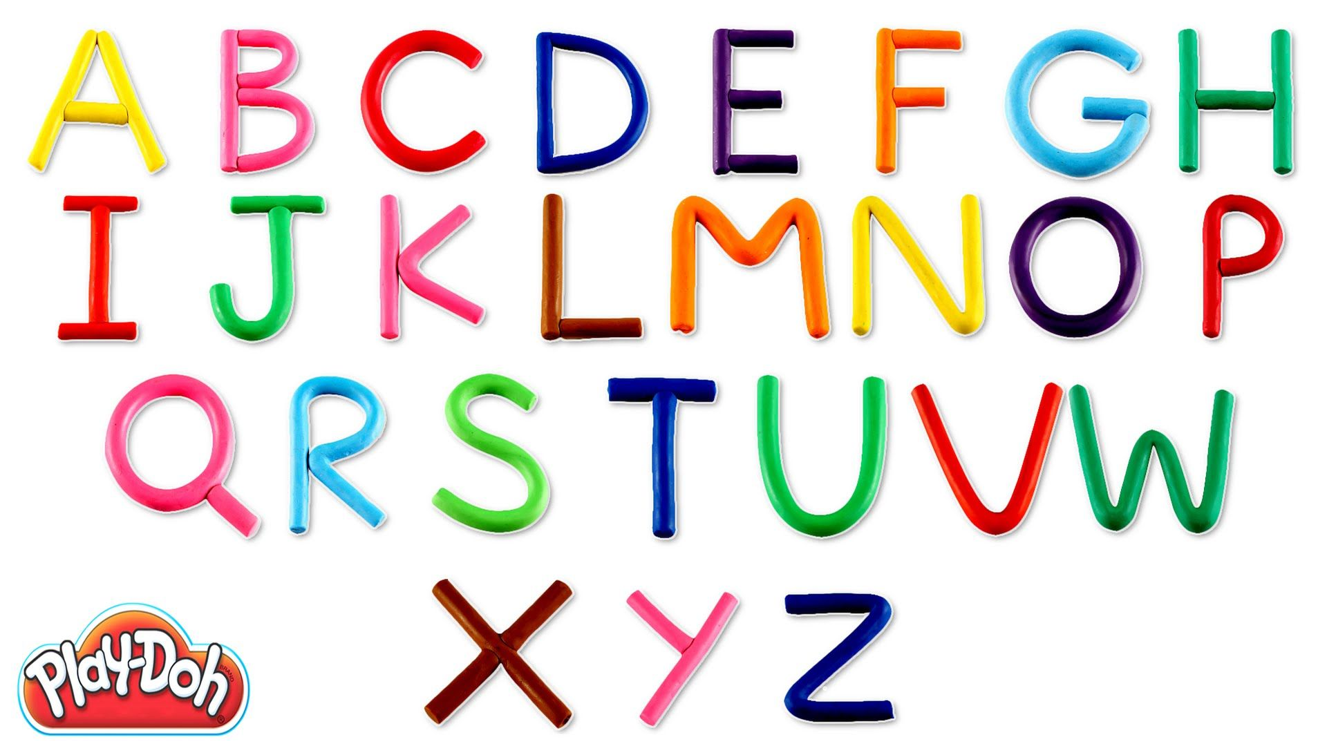 Now Learn The Alphabet With Play Doh Play Doh Abc Stop
