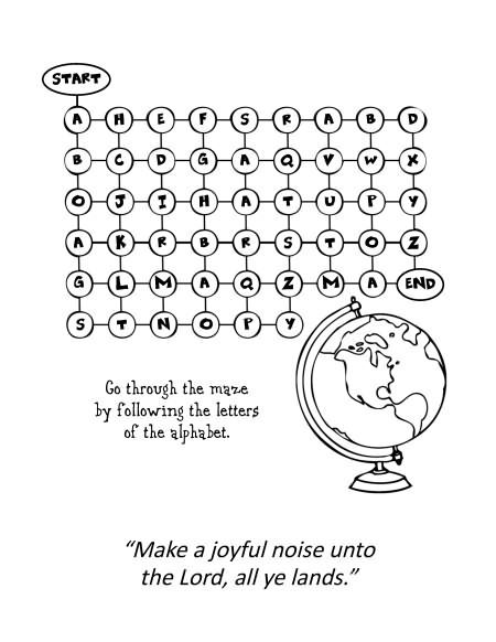 Psalm 100 1 Coloring Pages With Images Coloring Pages Psalm