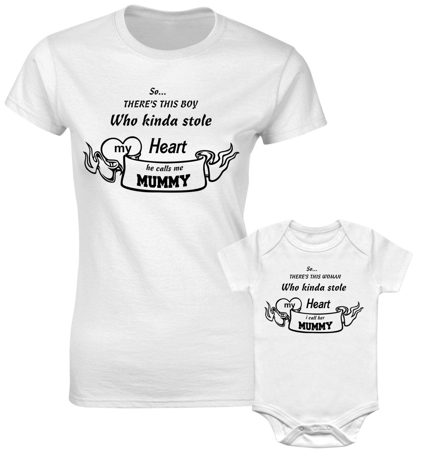 daddy daughter shirts,matching,baby bodysuit,cute kids clothes So theres this guy who kinda stole my heart baby shower gift toddler shirt