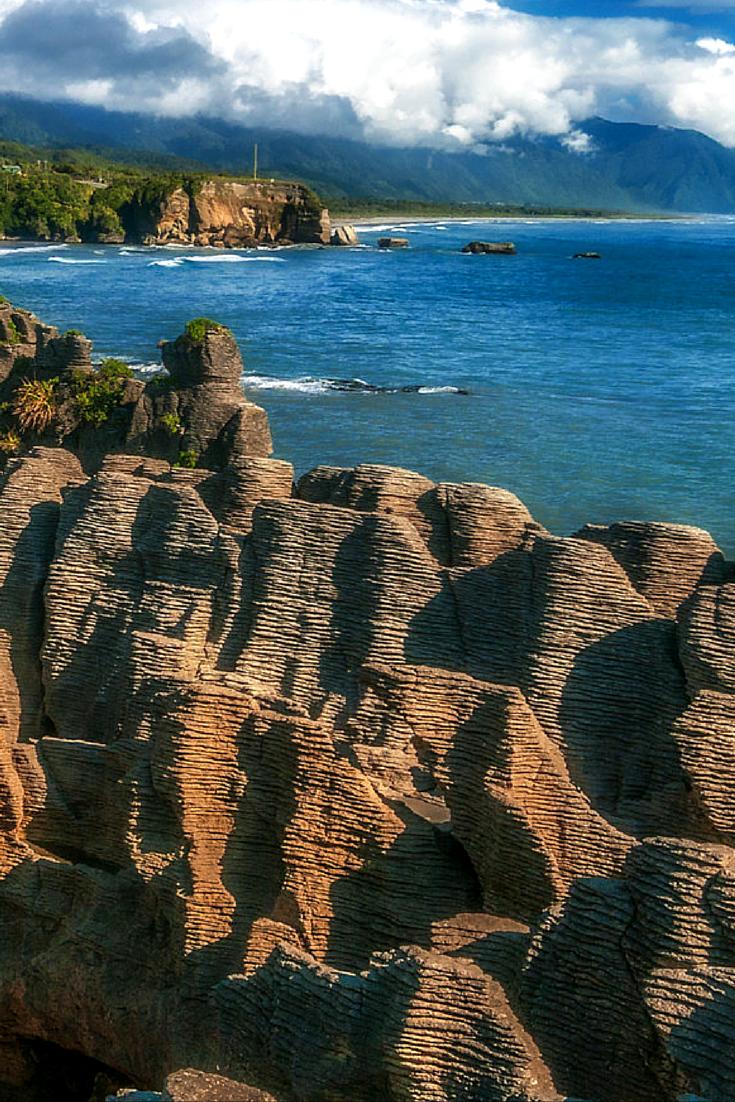 The Pancake rocks of Punakaiki, New Zealand | The Planet D: Adventure Travel Blog