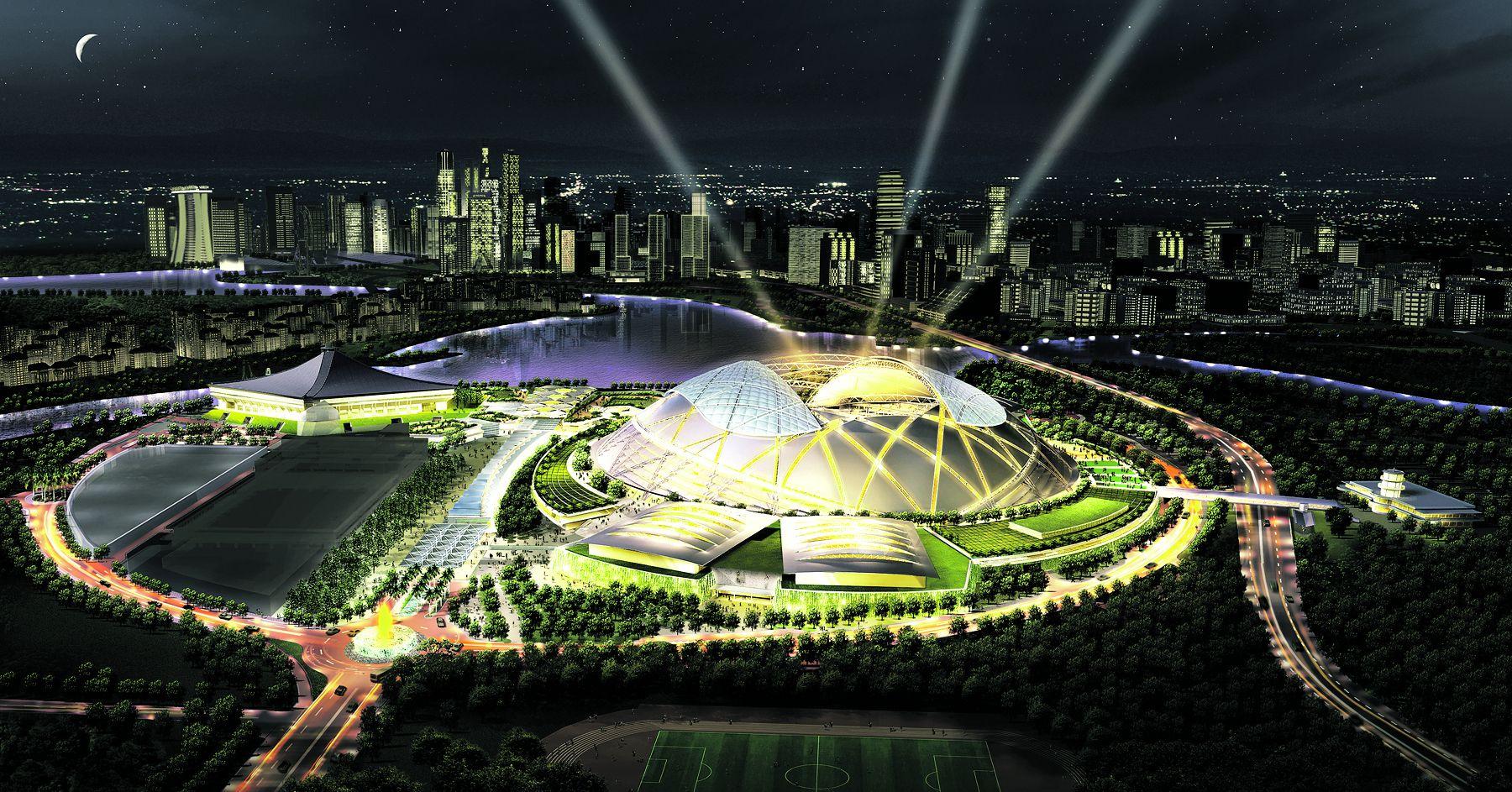 Singapore Sports Hub wins world architecture award World