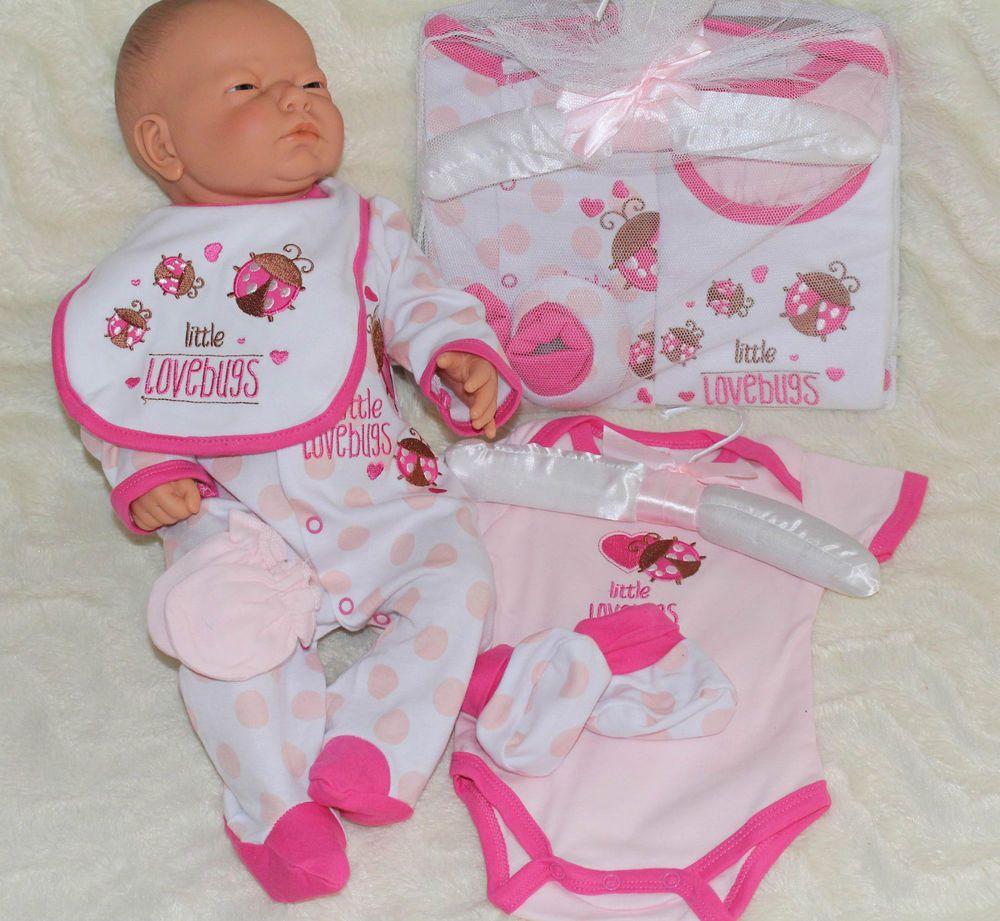56,62,68,74 Geschenkset Mädchen  Englandsmode NEU! Baby Erstausstattung Gr