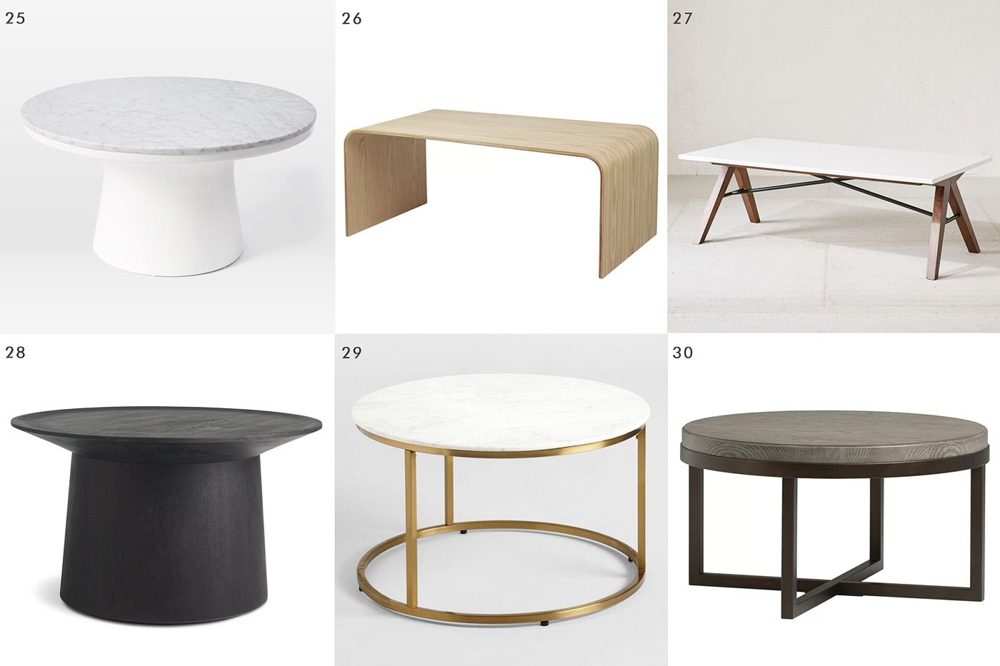 30 Coffee Tables For When You Re Short On Space Coffee Table
