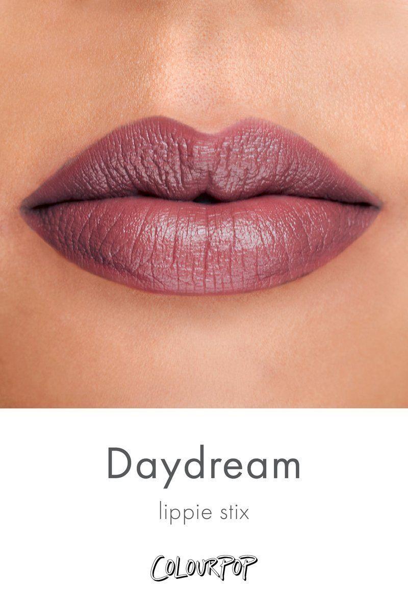 Daydream Matte X Plummy Brown Lippie Stix Lipstick Swatch -1627
