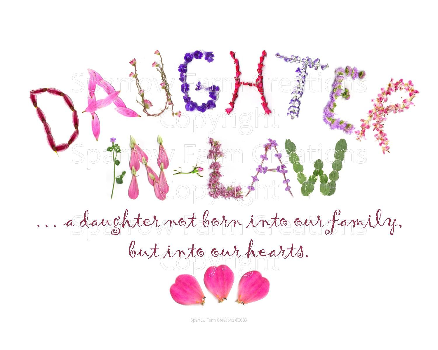 a daughter in law is quotes Google Search Birthday