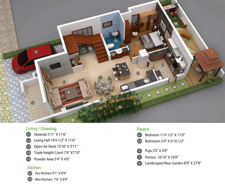 Green Shapes offers you luxury Villas in
