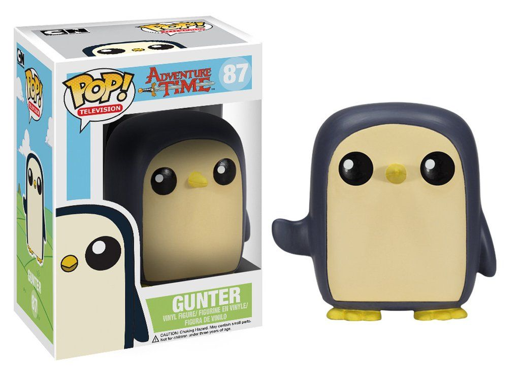 Pop Tv Adventure Time Gunter Funko Pop Vinyl Figuren Adventure Time Gunter Funk Pop