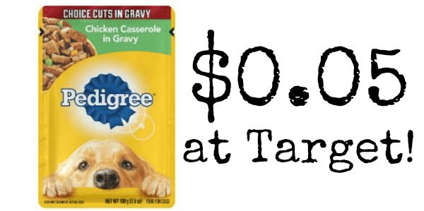 Target Pedigree Dog Food Pouches Only 0 05 Dog Food Recipes