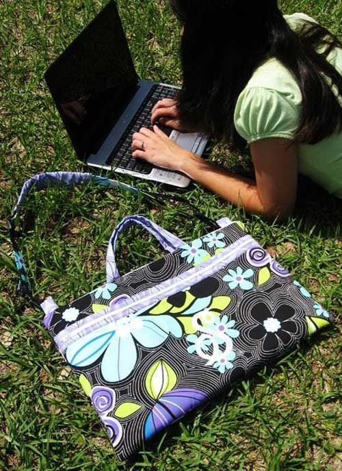 838a247adeed Laptop Bag Sewing Pattern | Bags to Sew! Sewing Patterns and ...