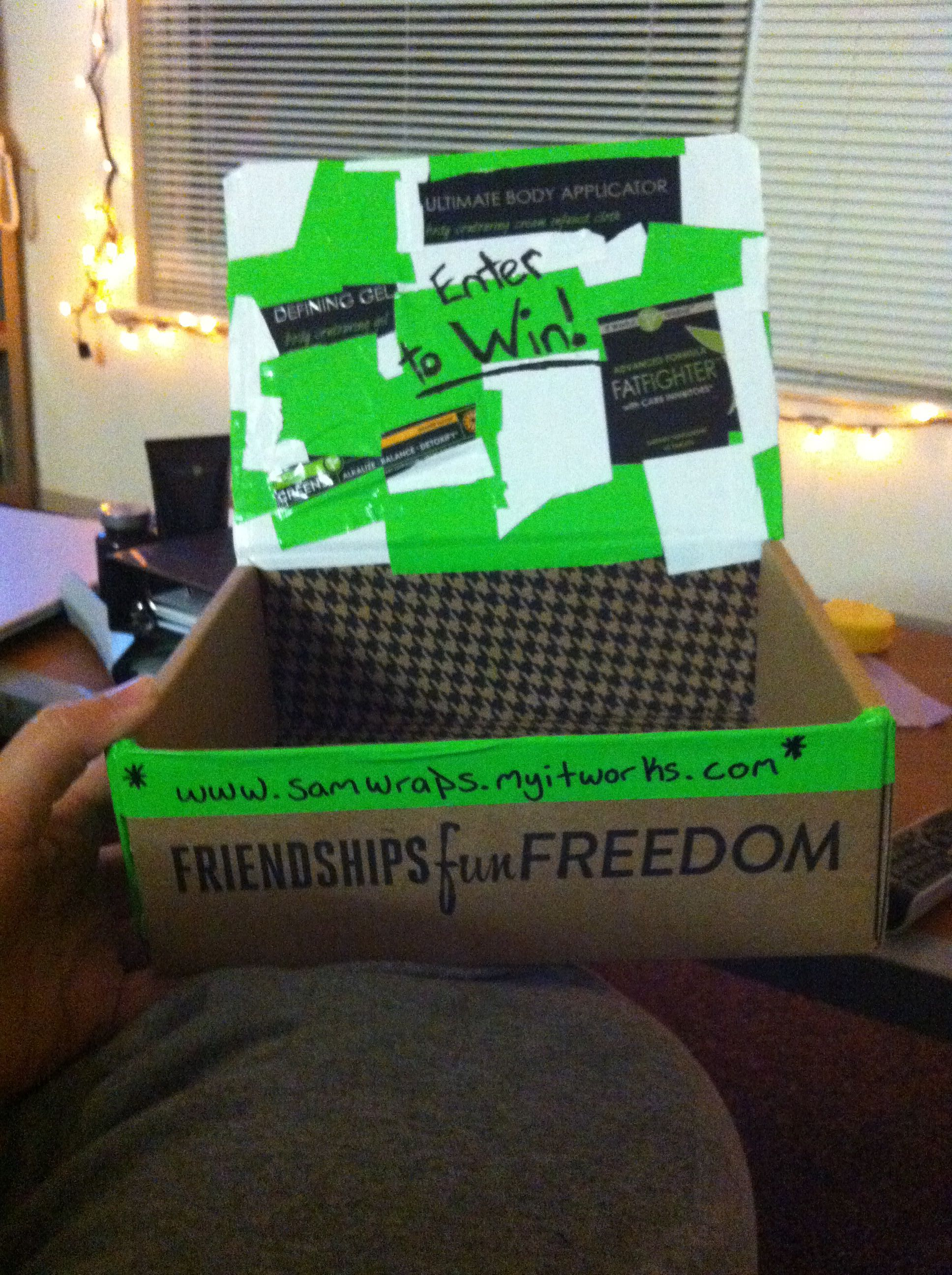 Lead box it works marketing itworks lead boxes