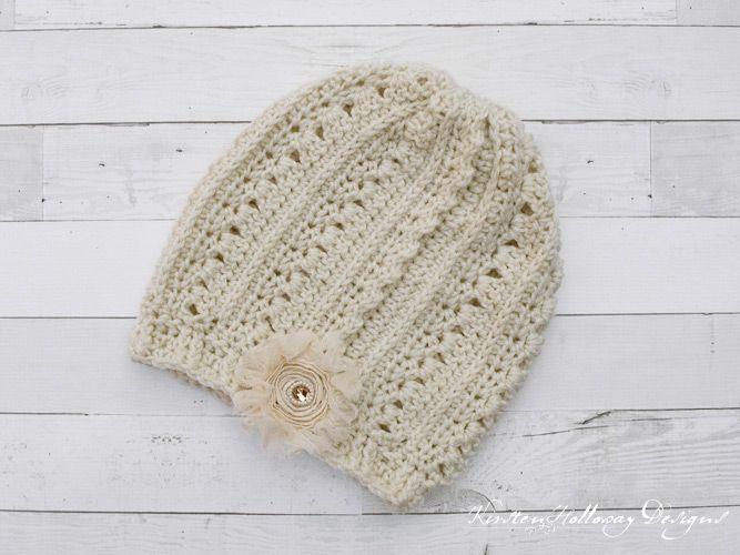Pattern - Primrose and Proper Slouch Hat (Free | Pinterest | Häkeln ...