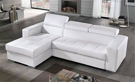 Divano Tigris ~ Rilassatevi sul vostro divano letto nardo in similpelle sabbia
