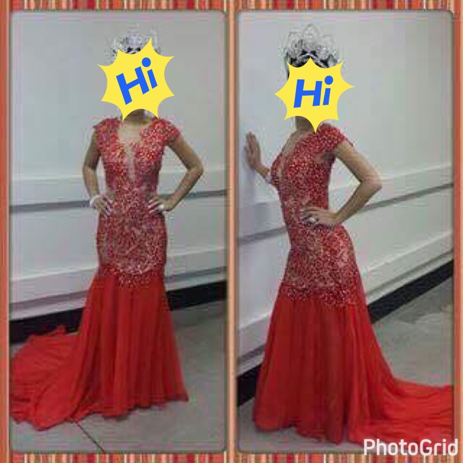 Cool amazing prom dresses pageant dress brand new long red dress