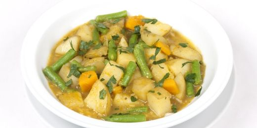 Veg Up Bean and Pumpkin Curry