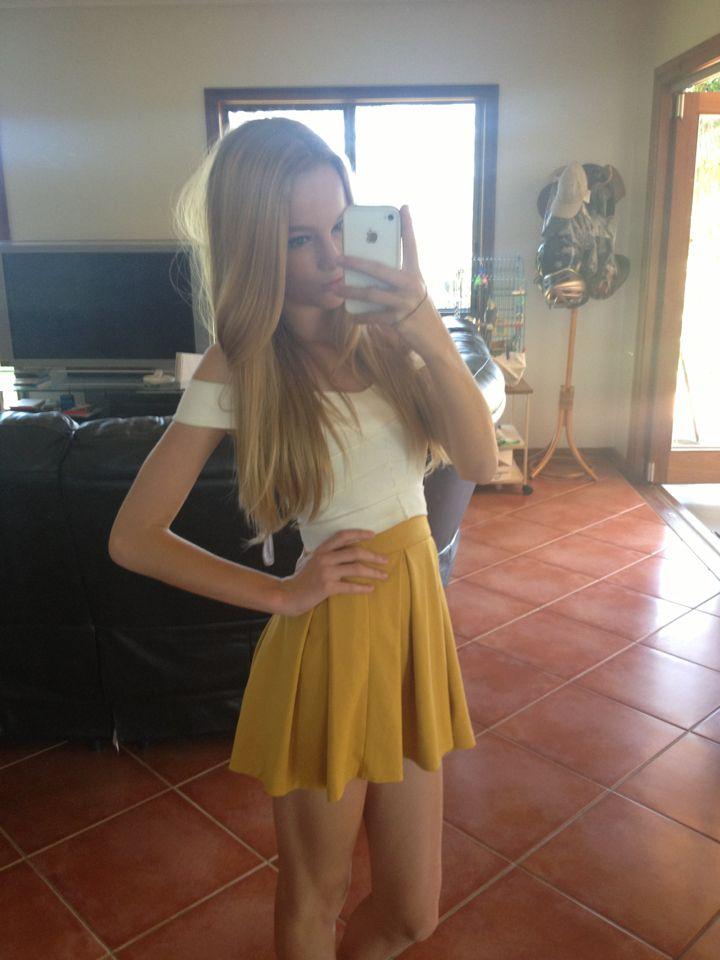 Skinny Blond Teen