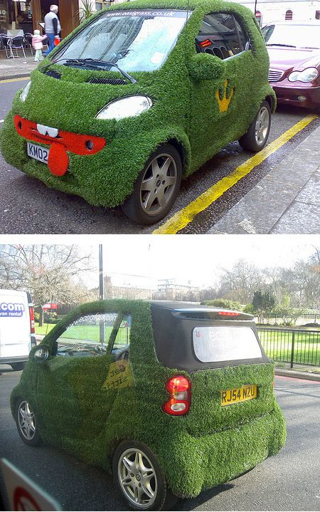 10 Most Amazing Gr Covered Cars Oddee