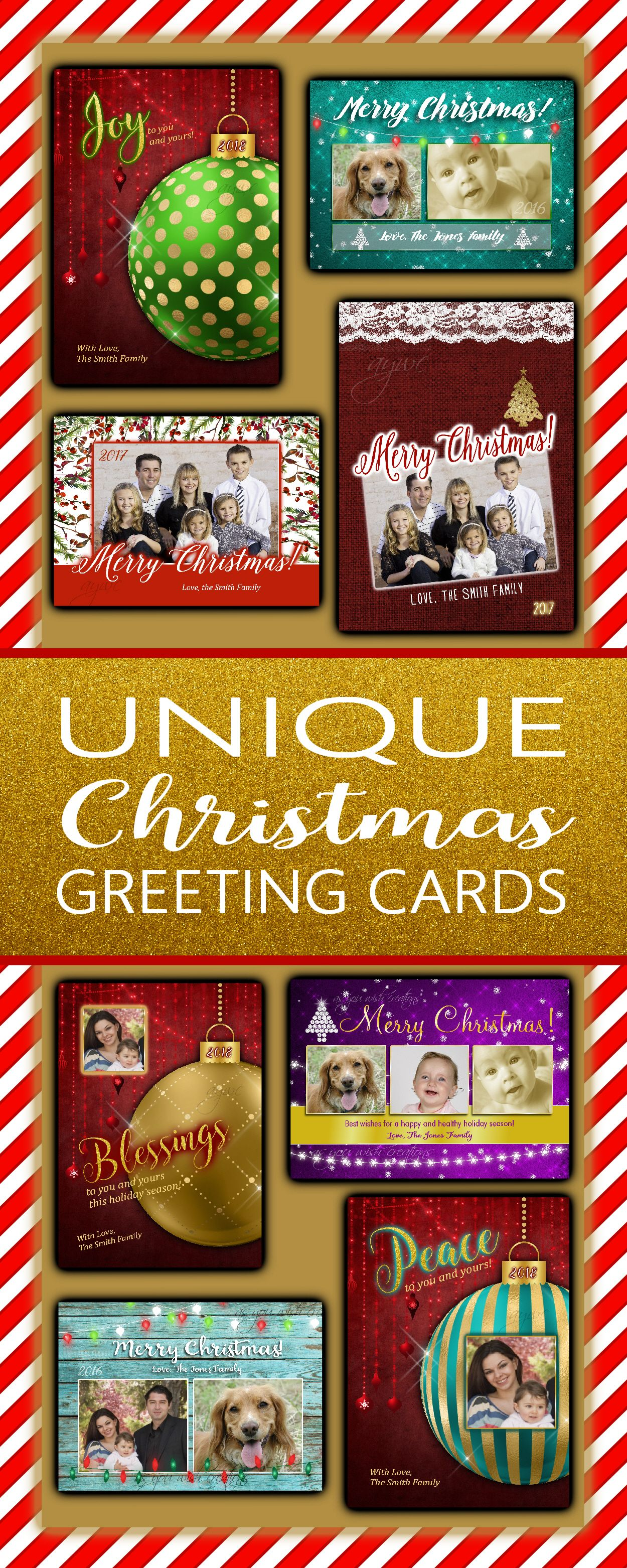 Family Christmas cards, christmas greeting cards, unique holiday ...