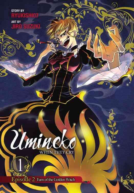 Umineko When They Cry Episode 2 Turn of the Golden Witch 1
