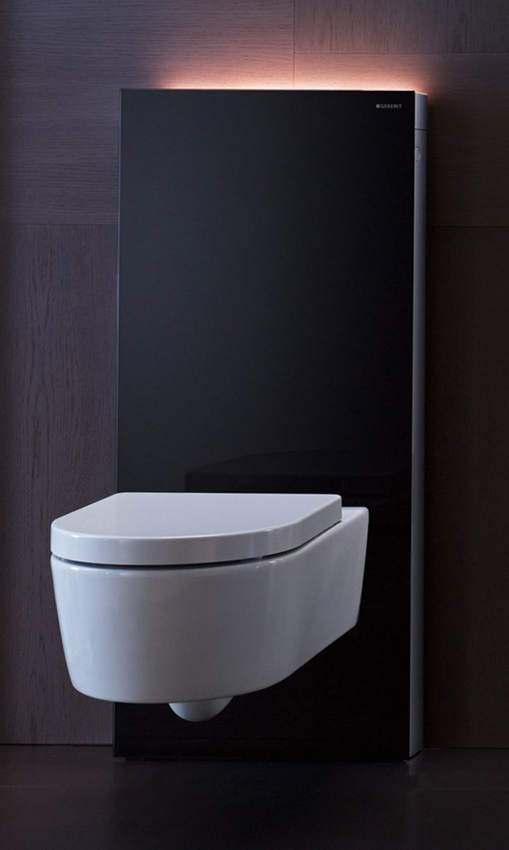 Più design in bagno con Monolith Plus WC di GEBERIT | Pinterest ...