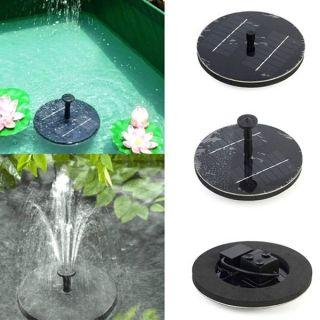 Fontaine à eau Légère Solaire Flottante Jardin Décoration Jardin ...