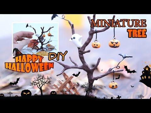 miniature halloween treepum pkin