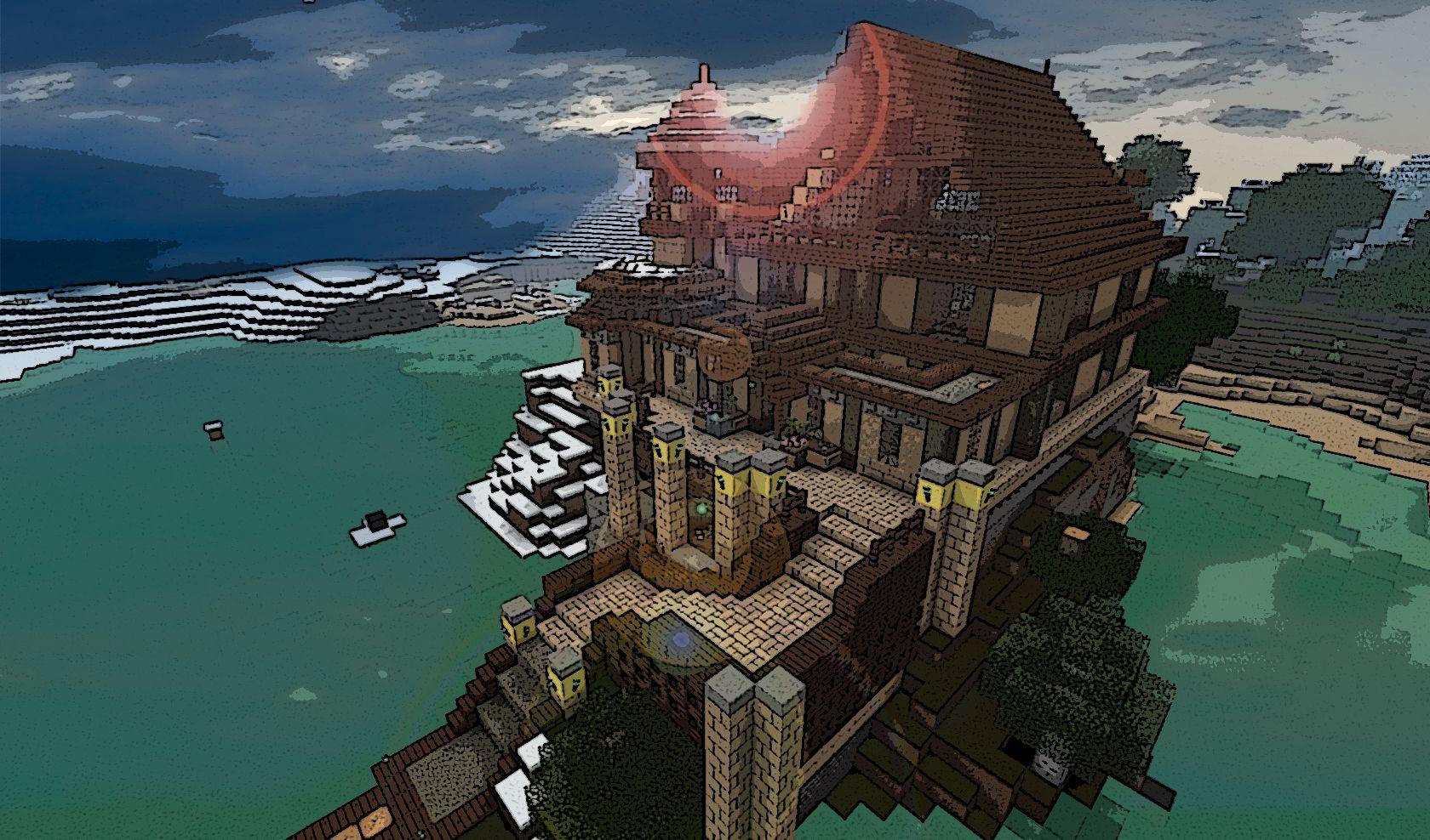 Minecraft Architecture  Chateau De Resquer - Screenshots - Show Your Creation