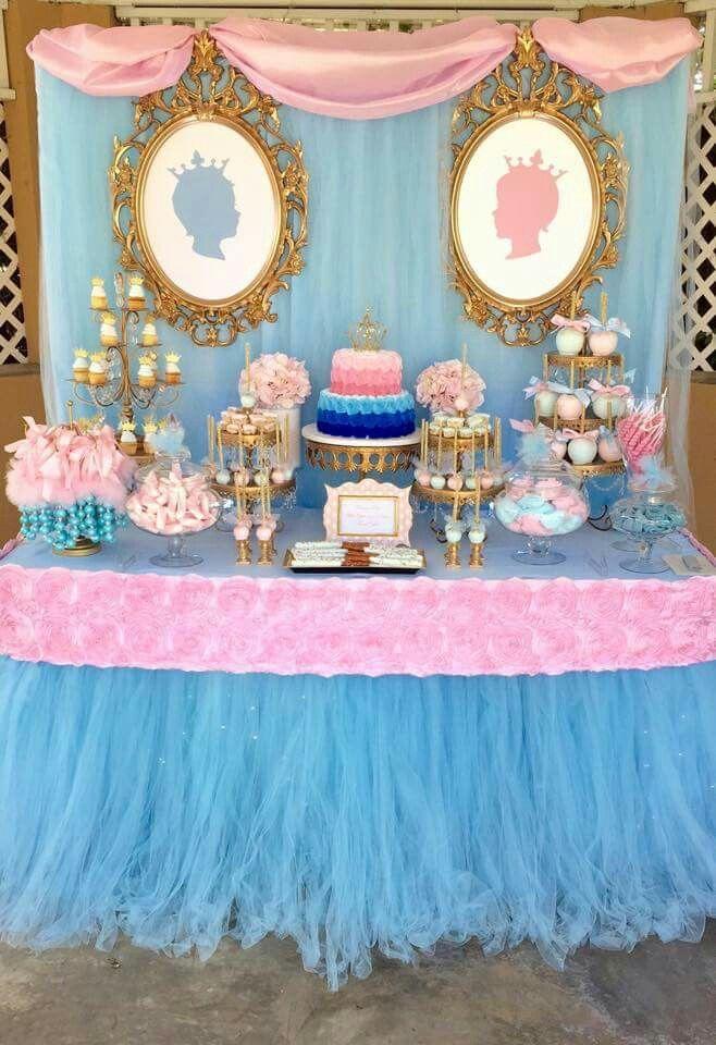 Candy Dessert Gender Reveal Party Decorations Gender Reveal