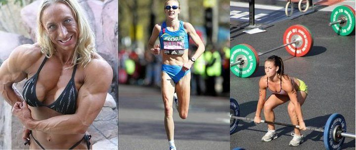 Female Bodybuilder Vs Marathon Runner CrossfitterCrossfit
