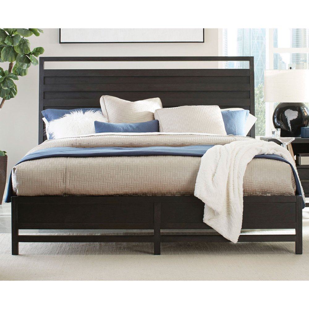 Tremendous Modern Black King Platform Bed Thomas In 2019 Black Beatyapartments Chair Design Images Beatyapartmentscom