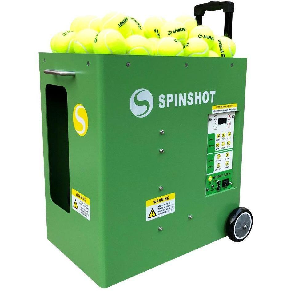 Spinshot Plus 2 Tennis Ball Machine With Phone Remote Supported Tennis Ball Machines Tennis Ball Tennis