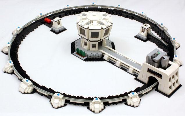 LEGO particle accelerator