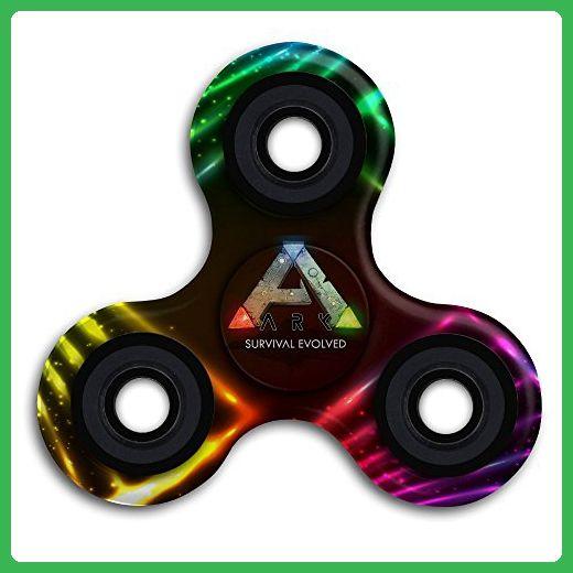SHALLTOY Ark Survival Evolved Tri Spinner Hand Toy Finger Gyro Fidget  Spinner Stress Reducer Toys   Fidget Spinner (*Amazon Partner Link)