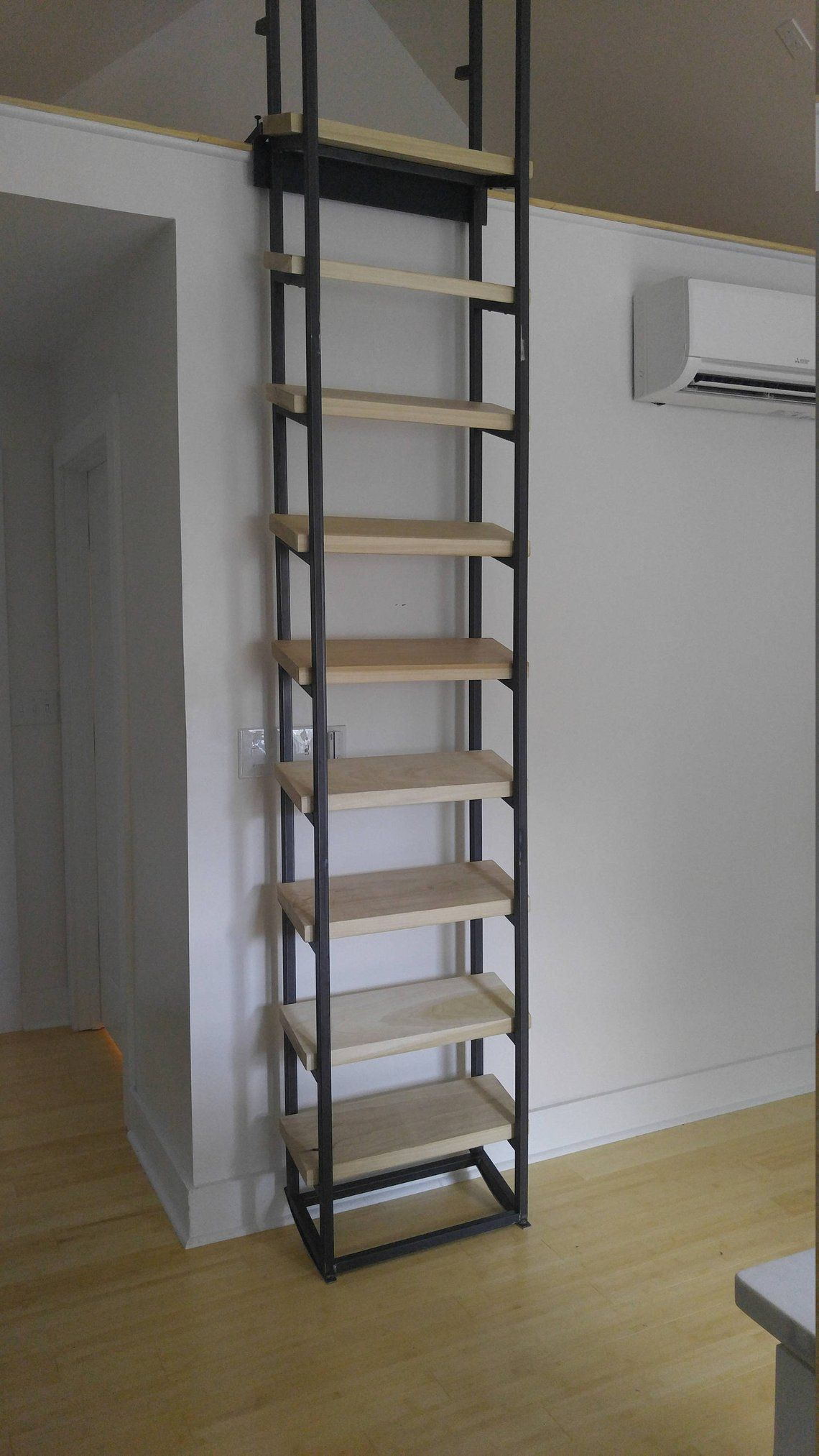 Librarian Ladder Loft Etsy Loft Ladder Loft Stairs Stairs Design