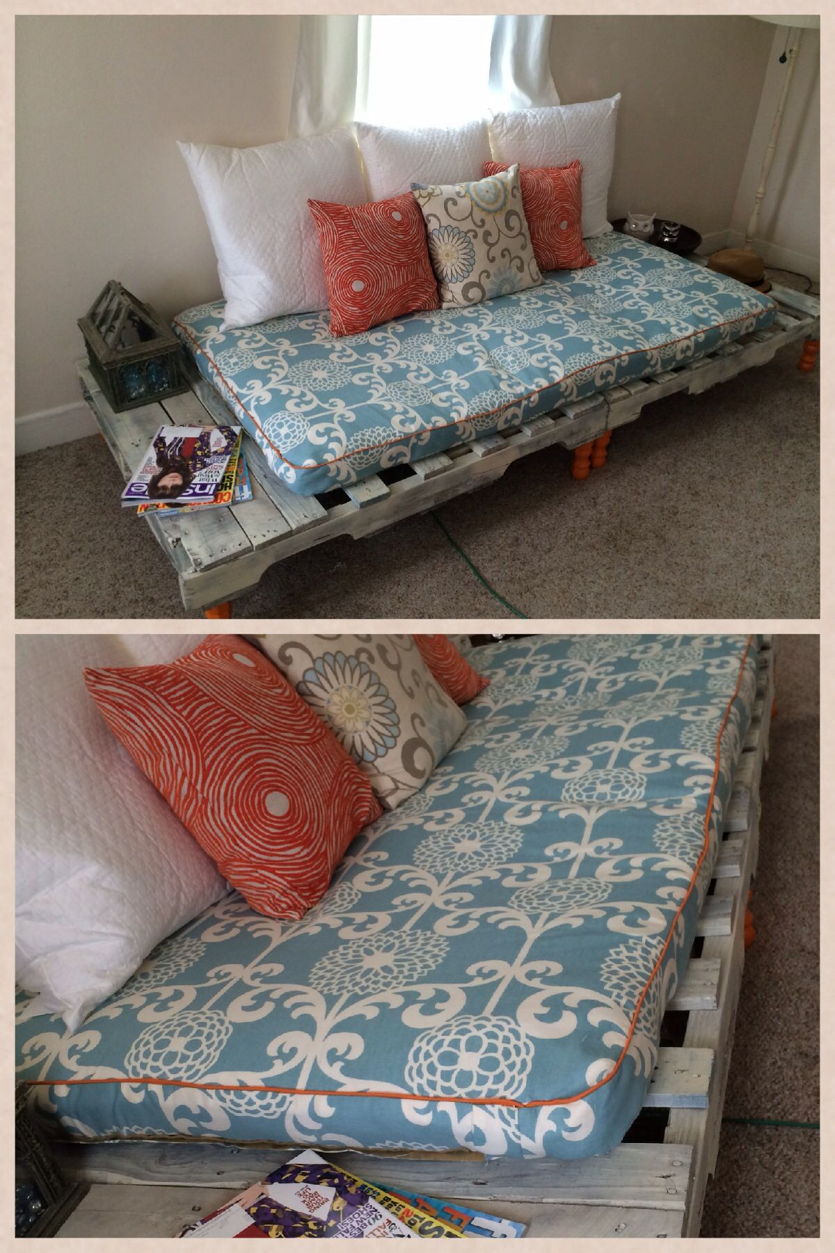 Shipping Pallet Sofa Best Mother/Daughter Project EVER  #704438 1200x1800