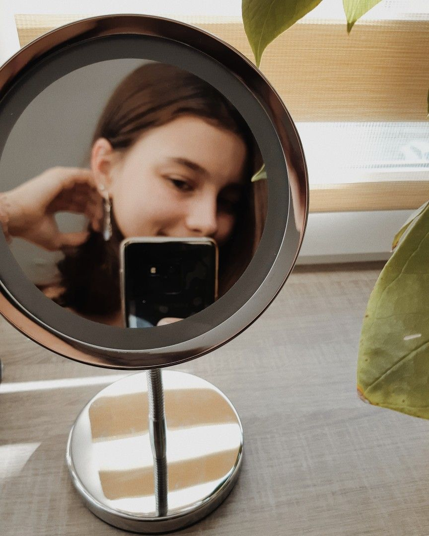 photo at the mirror; фото у зеркала. | Инстаграм, Идеи для ...