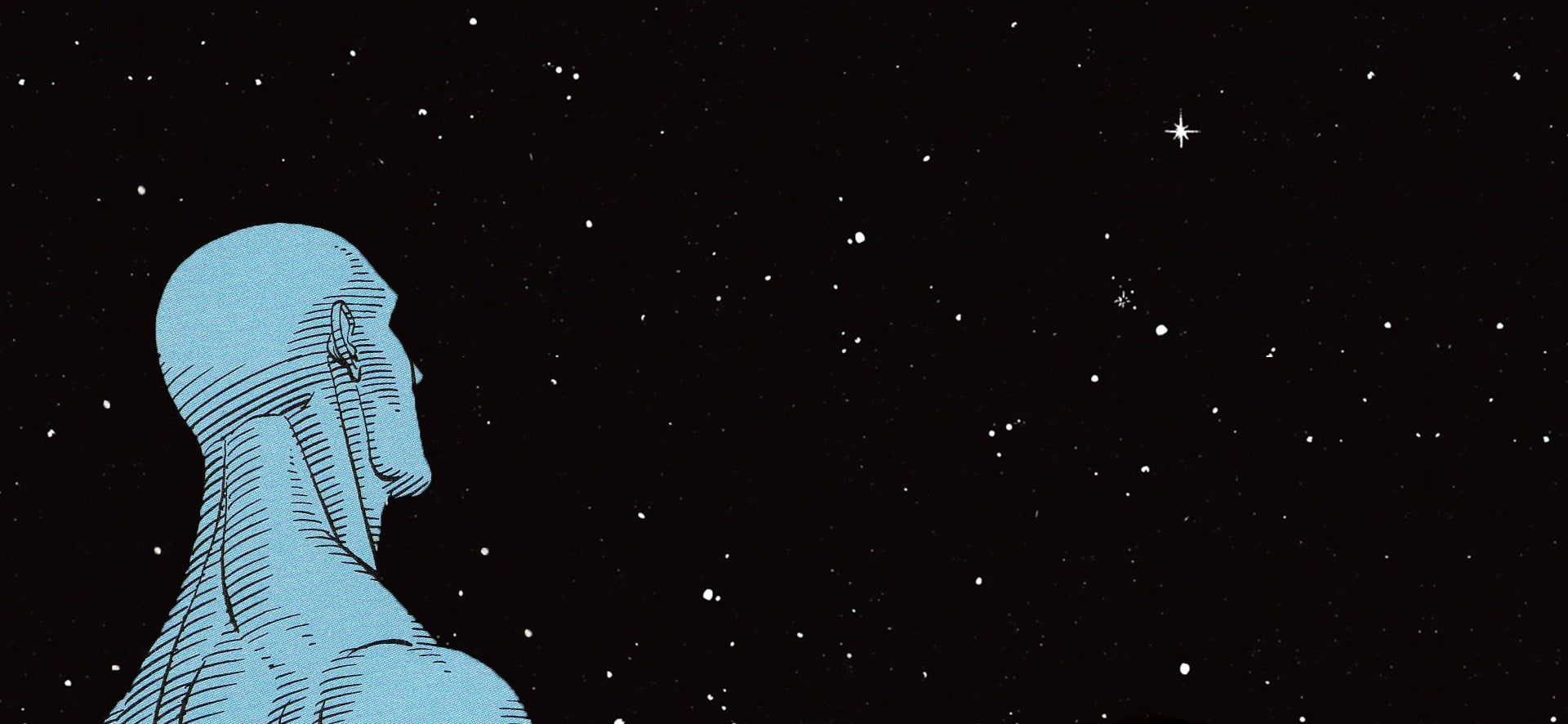 Human Illustration Dr Manhattan Watchmen Dc Comics 1080p Wallpaper Hdwallpaper Desktop 2020