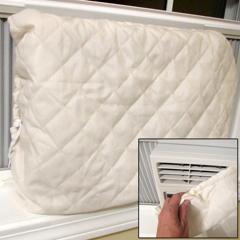Evelots Window Air Conditioner CoverIndoorQuiltedHeat