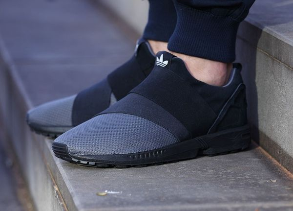 Adidas ZX Flux Slip On 'Granite' post image | Adidas slip on ...