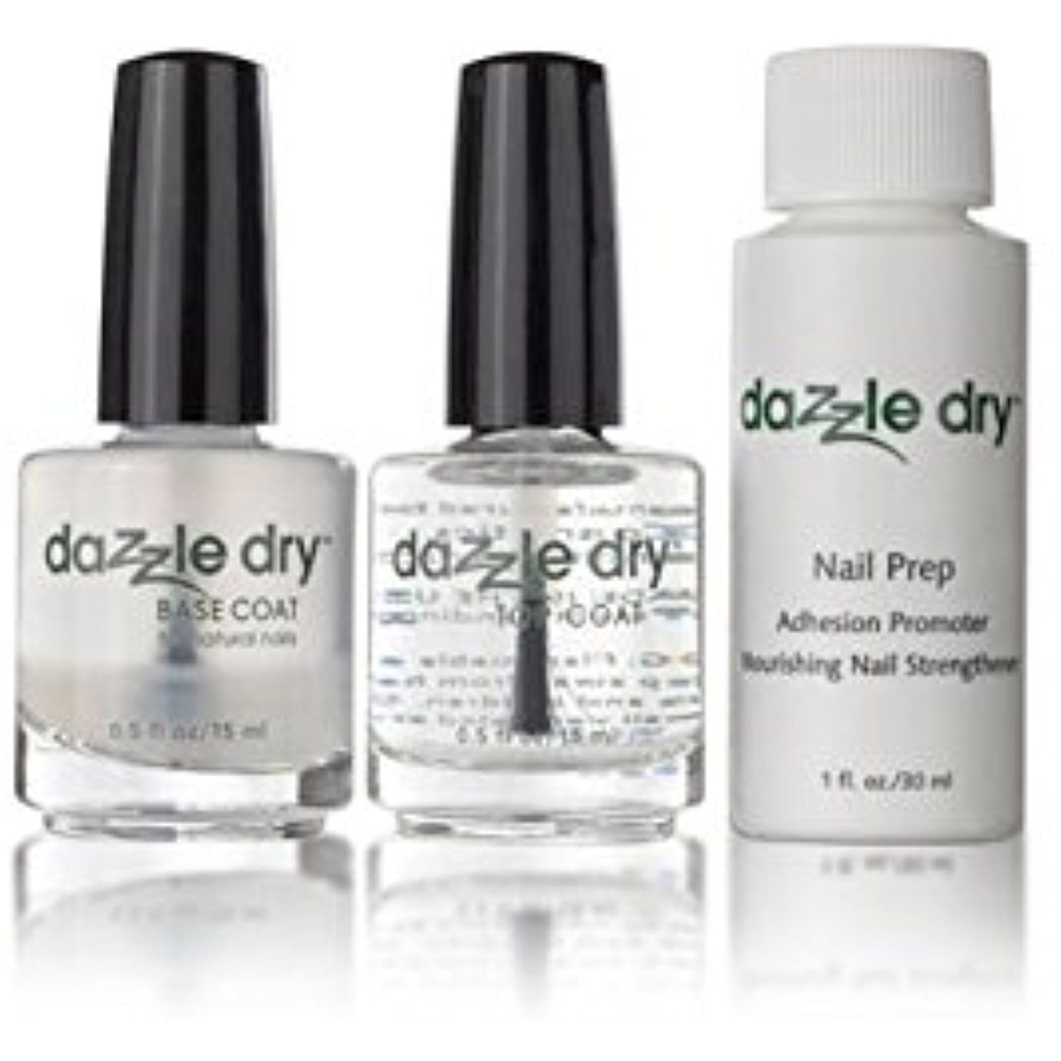 Dazzle Dry Trio Base Coat - Top Coat - Nail Prep *** Visit the image ...