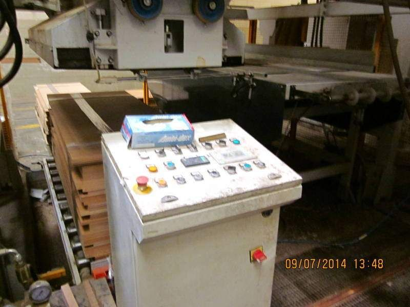 Pressa per porte Sergiani - Line door producition   WOOD MACHINES ...