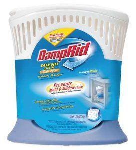 DAMPRID FG90 Humidity Indicator Sponge,Refill by DAMPRID. $12.90. Humidity Indicator Sponge, Material Calcium Chlorite, Package Type Refill, Application Office, Bedroom, Kitchen, Bathroom, Laundry Room, Mud/Entry Room, Mfr. No. FG92, Length 5-1/6 In., Width 8-1/2 In., Height 9-1/4 In., Weight 20.8 oz., Color Blue/White, Absorbs Moisture, Musty Odors, Area Protected 476 cu. in., Features Removes Excess Moisture From The Air Lasts Up To 60 Days, Includes (2) Refill Packs
