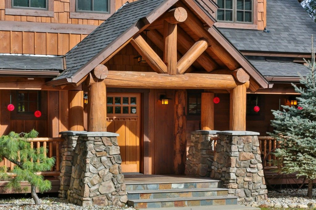 timber frame home plans the big chief mountain lodge new harmony