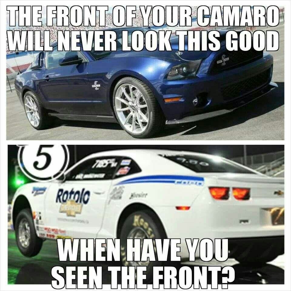 Chevy Quotes No Jokecopo Mustang Killer  Camaro Vs Mustang  Pinterest .