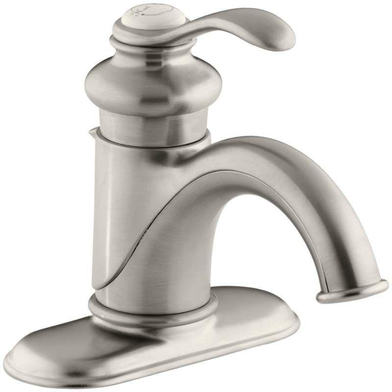 Kohler K 12181 Single Hole Bathroom Faucet Bathroom Faucets Kohler