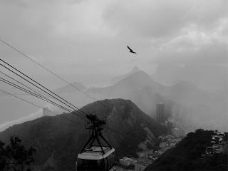 Pão de Açúcar, Sugar Loaf Mountain in the Clouds, Rio de Janeiro, Brazil (photo by Luis Bastardo)