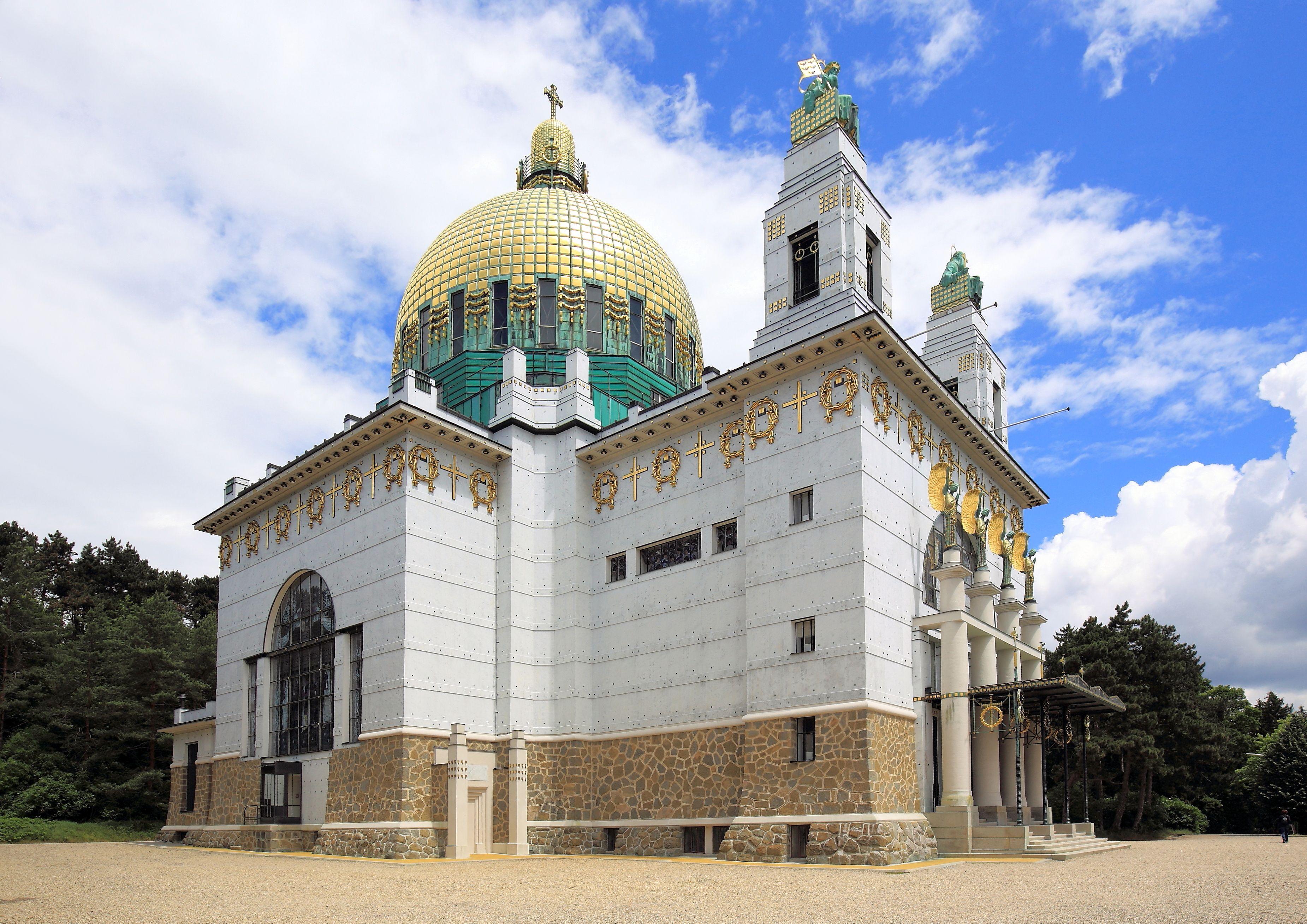 Otto Wagner Saint Leopold Church Am Steinhof Vienna 1904 1907