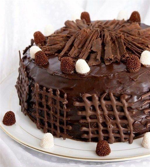 Трюфельный торт - рецепт приготовления с фото