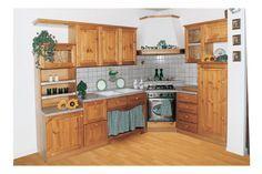 Mobili Rustici Cucina : Cucina mobili rustici in pino massello su misura rigo ornella