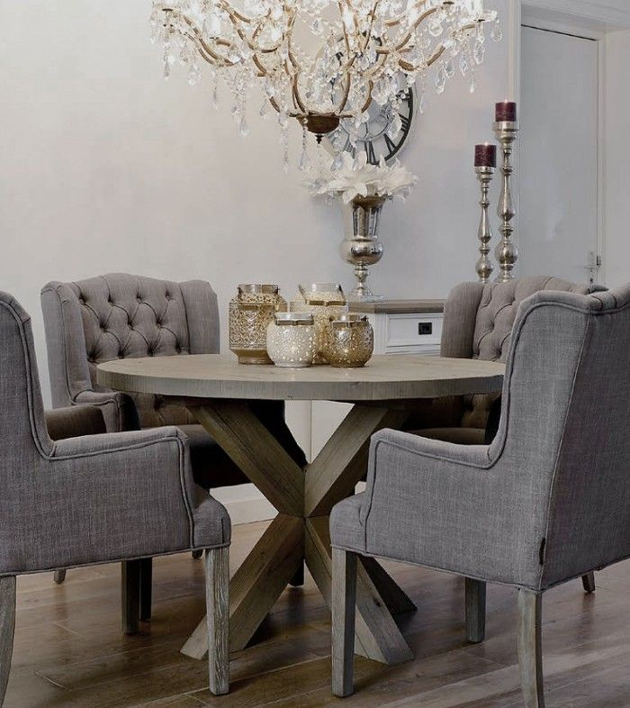 Weathered Grey Oak Wing Dining Chair  Openplan  Pinterest Alluring Grey Dining Room Sets Decorating Design