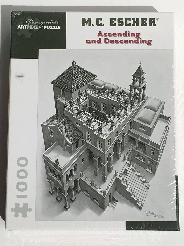 Pomegranate Mc Escher Ascending And Descending 1000 Piece Ebook Mc Escher Ebook Pdf